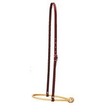 Weaver Leather Burgundy Latigo Leather Horse Caveson W/ Rope Noseband U-... - $36.54
