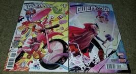 Marvel Comics Gwenpool 1 2 NM+ 6/2016 1st Print book Bonus Digital Codes... - $1.99