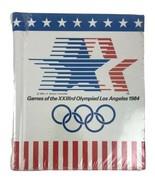 Vintage 1984 Games of XXIIIrd Olympiad Los Angeles Photo Book Sealed Oly... - $13.98