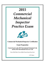 2015 ICC Commercial Mechanical Inspector Practice Exam on USB Flash Drive. - $43.69