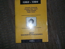 1994 Chrysler Concorde Körper Diagnose Procedures Service Shop Repair Ma... - $4.19