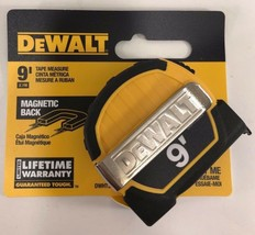DeWalt - DWHT33028 -  9 ft. Pocket Tape Measure With Magnetic Back - $13.81