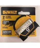 DeWalt - DWHT33028 -  9 ft. Pocket Tape Measure With Magnetic Back - $13.81