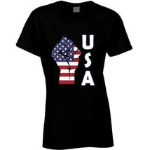 Fight Power Usa Ladies T Shirt image 9