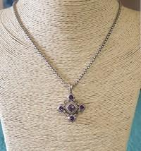 David Yurman Renaissance Pendant With Amethyst and Diamonds - $650.50