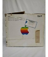 ORIGINAL Vintage 1980s Apple IIe Color Monitor EMPTY BOX - $93.14
