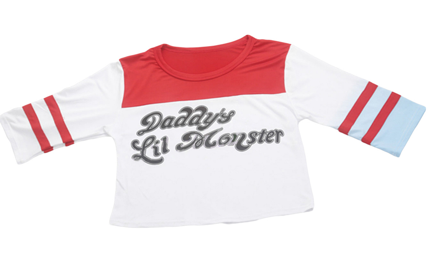 Shirt Suicide Monster T Quinn Lil Daddy's Harley Squad Oknw80PX