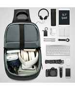 Multifunction  Bag Men Business Crossbody Bags USB Charging Design Chest... - $60.65