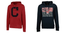 MLB Cleveland Indians Men's Hoodie Baseball Hooded Pullover Sweatshirt NEW