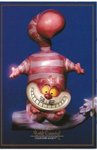 """WDCC Disney Post Card Postcard 4"""" by 6"""" Unposted Cheshire Cat  - $6.00"""