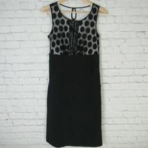 Sangria Dress Womens Size 4 Black White - $36.48