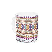 "Kess InHouse Nika Martinez""Native Fiesta"" Ceramic Coffee Mug, 11 oz, Multicolor - $14.99"