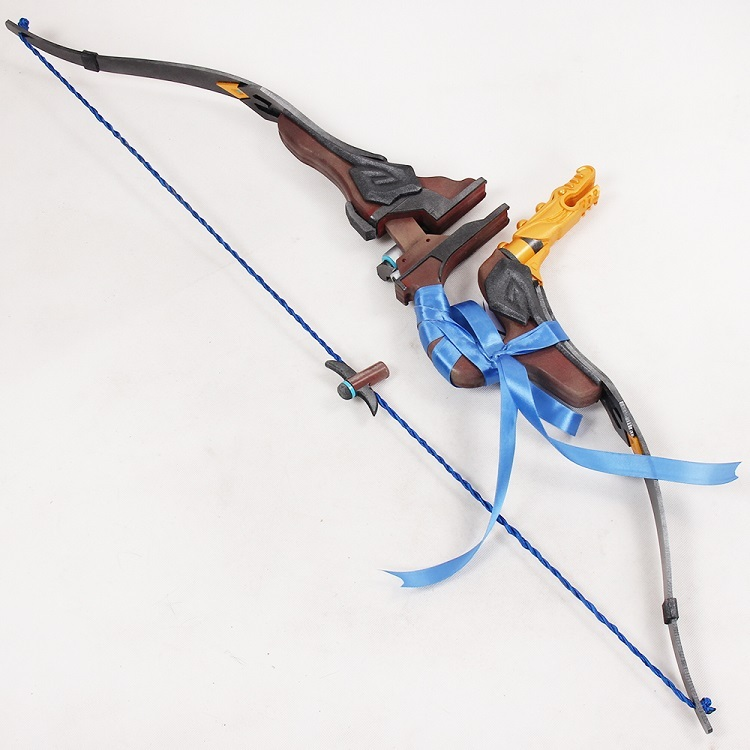 Overwatch Hanzo Skin Young Master Weapon Cosplay Replica Bow Quiver Buy