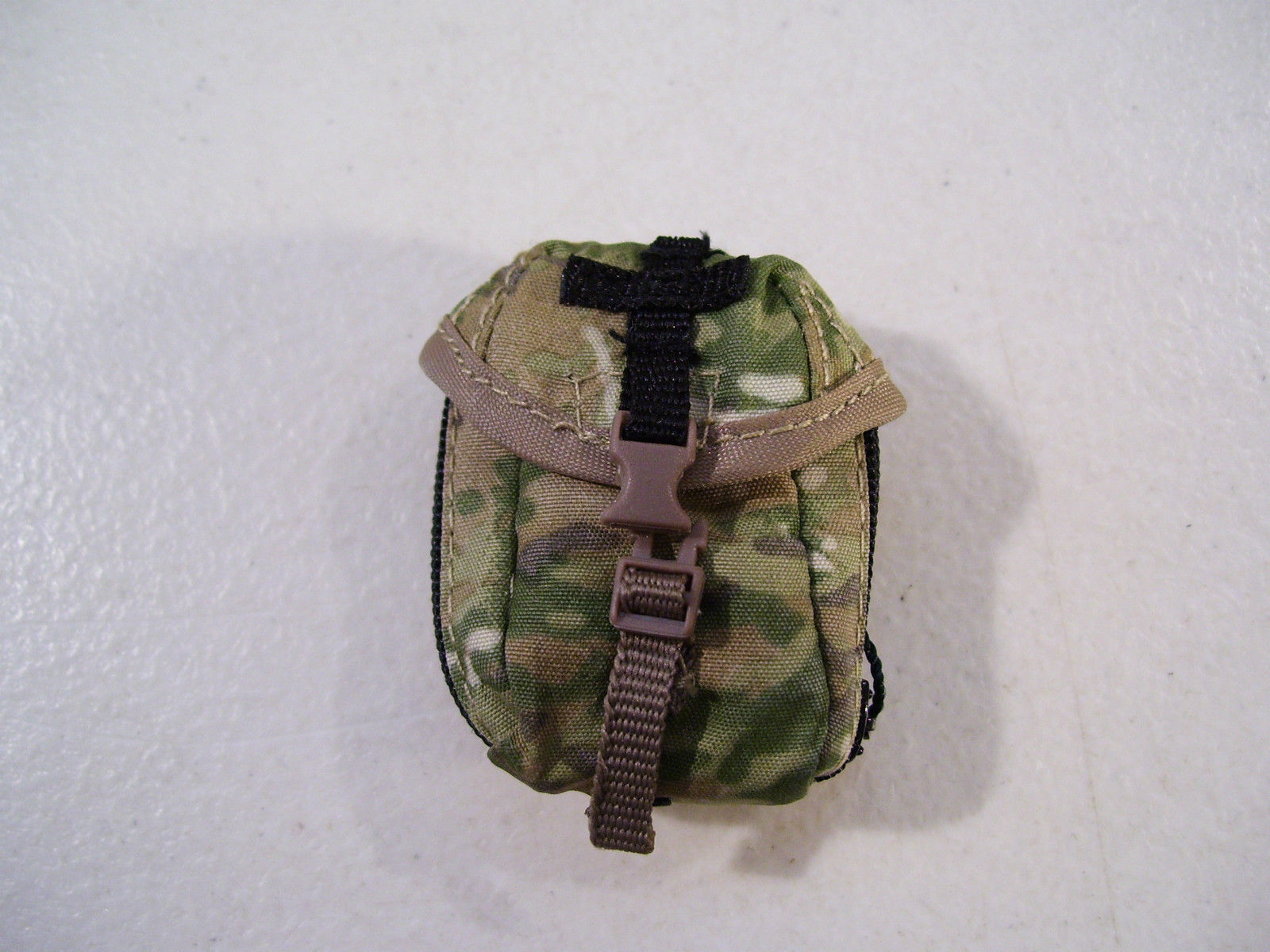 "NEW CAMO POUCH ACCESSORY FOR 12"" ACTION FIGURES BLUE BOX 1/6 SCALE"