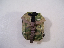 "NEW CAMO POUCH ACCESSORY FOR 12"" ACTION FIGURES BLUE BOX 1/6 SCALE image 1"