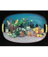 Vintage 1970's Serving dinner Tray, Hermes Liquor & Salem Cigarettes, Ja... - $49.95