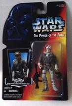 Star Wars Power of the Force POTF2 Han Solo In Hoth Gear Open Hand Orange .00 - $10.93