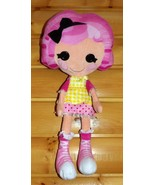 "Lalaloopsy Pink Hair Sugar Cookie Crumbs Plush 26"" Doll Buddy Bed & Play... - $11.29"