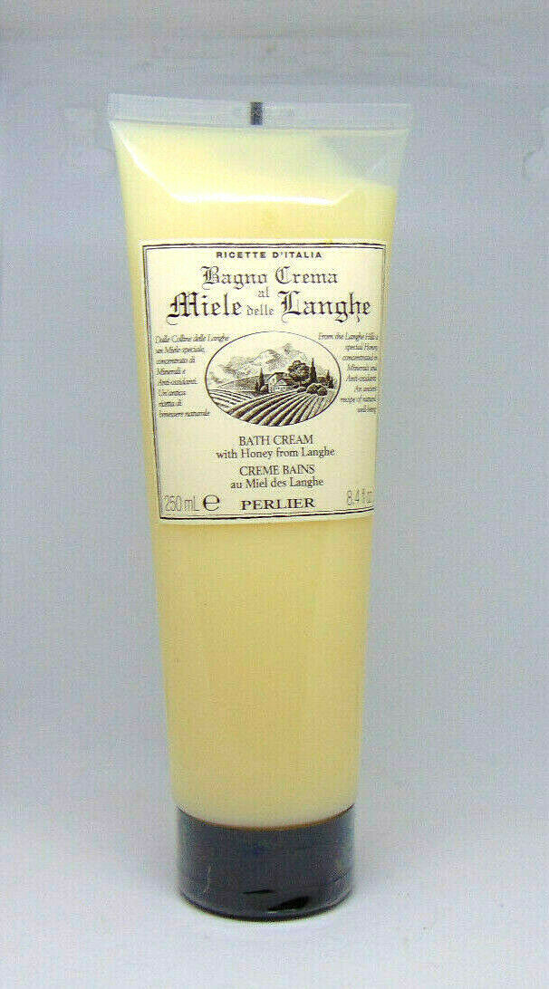 PERLIER Bath Cream with Honey from Langhe 8.4oz/250ml - $16.34