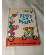 Dr Suess~ Bears On Wheels~ Bright And Early Books 1969 - $5.93