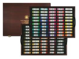 Mungyo Artists Handmade Soft Pastels 100 Colors Set image 1