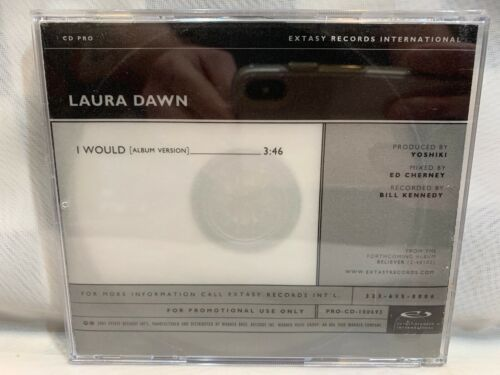 Primary image for Laura Dawn I Would CD (PROMO Single)