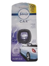 Lot of 2 FEBREZE CAR VENT  CLIP AIR FRESHENER MIDNIGHT STORM - $4.94