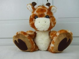 "Aurora World Taddle Toes Stuffed Sitting Soft Plush Safari Giraffe 10"" tall - $12.99"
