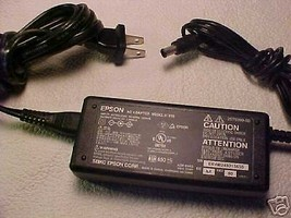24v 24 volt Epson adapter cord - Perfection scanner 2580 power PSU brick... - $21.36