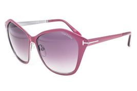 Tom Ford Lena Bordeaux / Burgundy Gradient Sunglasses TF391 69Z - $155.82