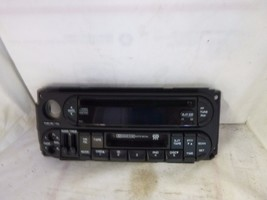 02-07 Dodge Chrysler Jeep Radio CD Cassette Face Plate P05064300AD JC8206 image 1