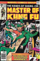 Master of Kung Fu Comic Book #48, Marvel 1977 FINE - $4.50