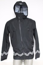 New Crooks & Castles Men's Woven Jacket Polyester Port Authority Black Size XL image 1