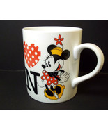 Disney china Minnie Mouse coffee mug I love MN by Sango Minnesota souven... - $10.08