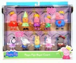 Princess Peppa pig' and friends Royal court Figure 10 Pack - $45.31