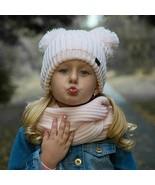 FURTALK Children Winter Hat and Scarf Set Kids Warm Winter Double Pom Po... - $29.96