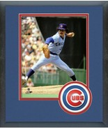 Willie Hernandez Chicago Cubs Vintage Action 11x14 Team Logo Matted/Fram... - $42.95