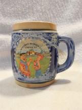 Flintstones Vintage Bedrock City Custer SD Ceramic Souvenir Toothpick Ho... - $7.95