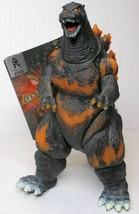 "New Bandai 2001 Burning Godzilla 6"" Figure Movie Monster Series Toho Japan - $69.99"