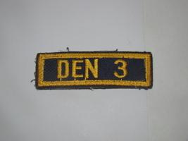 Boy Scouts - Den 3 (Patch) - $8.00