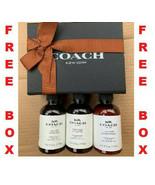 Coach Handbag Leather Fabric Cleaner Leather Moisturizer 4 FL oz LOT Fre... - $6.92+