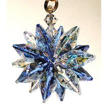 Small Aurora Borealis Crystal Suncluster Ornament image 5