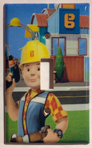 Bob the builder Light Switch Power outlet phone jack Wall Cover Plate Home decor