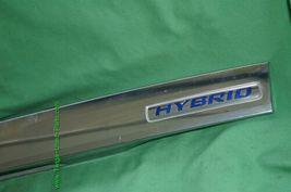 2012-14 Honda Insight Trunk Lid Garnish Trim Molding Finish Tag Lights - Chrome image 3