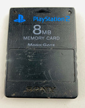 Sony Playstation 2 PS2 8 MB Memory Card Magic Gate SCPH-10020 - $7.91