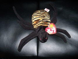 Beanie Babies Baby Ty Spinner the Spider  Retired LAST ONE - $28.80