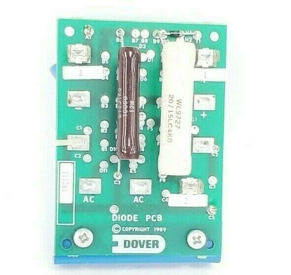 DOVER 111261 CAPACITOR DIODE PC BOARD ASSEMBLY