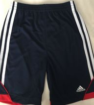Neuf adidas Blanc Rouge Bleu Amérique USA Garçons 2 Pièce T-Shirt & Short Set image 3