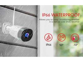 Mibao Outdoor Security Camera Compatible with iOS/Android #P450 image 2