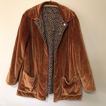 St. John Sport Womens Size L/ XL Coat Jacket Reversible Corduroy Geometr... - $74.80